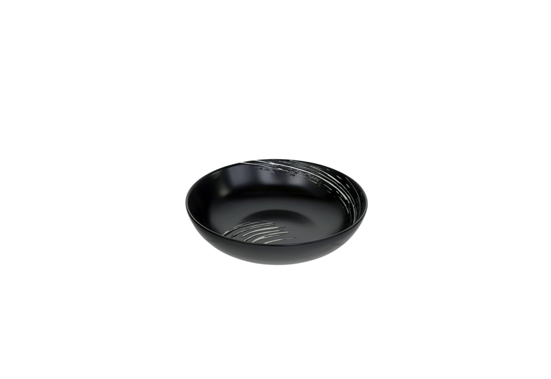 Bowl Black Maru 17.8 x 4.5